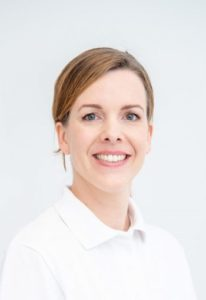 Portrait Foto: Physiotherapeutin Veronika Winter